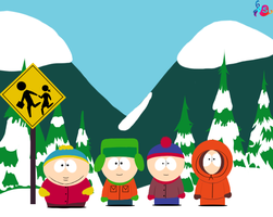 South Park for kittycat0143 by SapphireShine