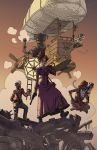 Constance Chesterton and the Cogs of Karma by synthezoide