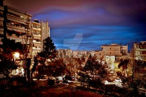 Night sky HDR by ClaudiuOnofrei