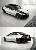 Custom Lexus Design by SeizureSquid
