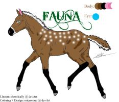 Character: Fauna by micro-pup