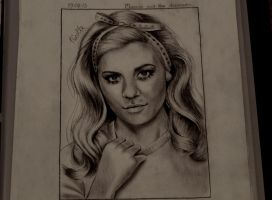 Marina and the diamonds drawing by Swoetie