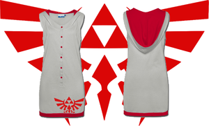 LOZ Hylian Crest Dress by Enlightenup23
