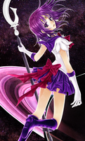 Sailor Saturn by FynnFishGermany