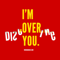 Over You 2010 by WRDBNR