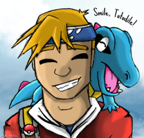 Smile Totodile by Totodile-with-Fries