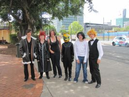 SupaNova : Sunday : Durarara Cosplay Group and us by Dragon-Thane