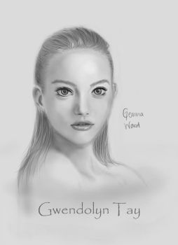 Gemma Ward by Rappy11