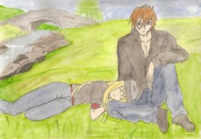 Cain and Yuki by MOURNING-SKY