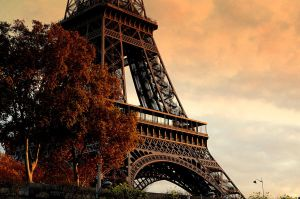 Eiffel Sunset by joseluisrg