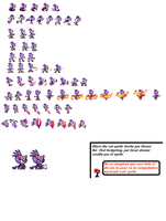 blaze thecat sprites :update: by roxastheredhedgehog