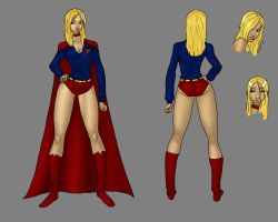 Supergirl - Turnaround by LexiKimble