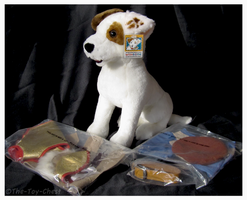 Wishbone Plush With Costumes - 1997 JCPenney Set by The-Toy-Chest