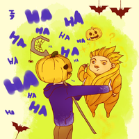 RotG:   pumpkinstuck 5 by hyokka