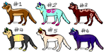 Feline adopts ( OPEN! ) by Toxic--Adopts
