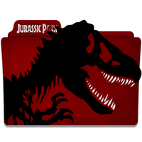 Jurassic Park Folder Icon by mikromike