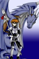 Kaiba the Wyvern Lord by KimMcCloud