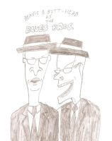 B and B as Blues Bros. by JimmyTwoTimes2K9