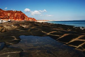 Black and red at Cape Leveque by wildplaces