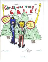 SP: creek - xmas tree pickin by HieisQueen07