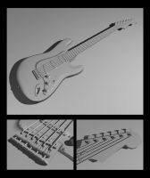 Fender Stratocaster Hardtail by Loucife