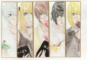 Death Note by Yachiru-likes-candy