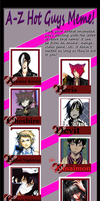 Hot Anime Guys A-Z by h-chan1316