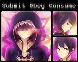 SUBMIT OBEY CONSUME by JAYWlNG