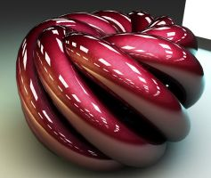 Abstract 3D - Torus swirl by cytherina
