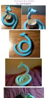 Periwinkle Blue Kuda Plush by Ginnunga