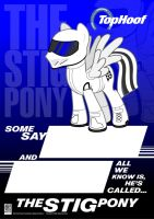 The Stig Pony by Kman-Studio
