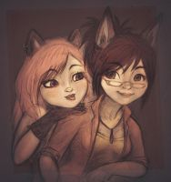 trickster friends by Sukeile