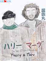 Harry and Marv,The Wet Bandits by Chotetsumaru