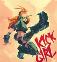 Kick Girl by BoyFugly