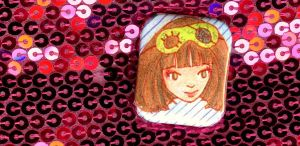 Helloiloveya Portrait Badge by pollywriggle