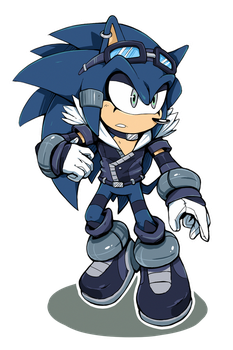 [Peter Parlouzer] - Chance the Hedgehog by Cylent-Nite