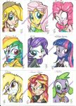 Equestriagirlscolor by PonyGoddess