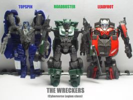 Cyberverse Wreckers by Lugnut1995