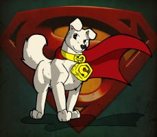 Krypto The SuperDog by TheBurningDonut