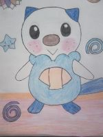 Li'l Kawaii Oshawott by Ai-chanThePandaLvr14