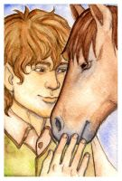 LOTR: Sam and Bill by foxysquid