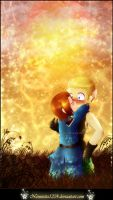 hetalia: surprise kiss X3 by nennisita1234