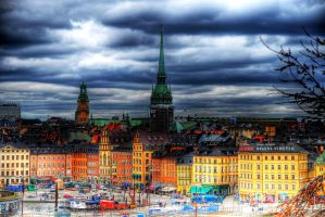 Stockholm city by canbayram