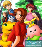 Digimon Savers by splashgottaito