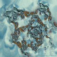 Snowy Slope by FireLilyFractals