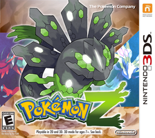 Pokemon Z - Fake Cover by Tomycase