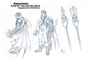 Aquaman Redesign 2 by Grailee