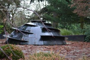 Fountain at Evergreen Arboretum and Gardens by PoultryChamp