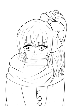 Another Sketch by CutiePatates