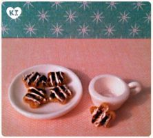 1:12 Miniature Smore Cookies by kicat